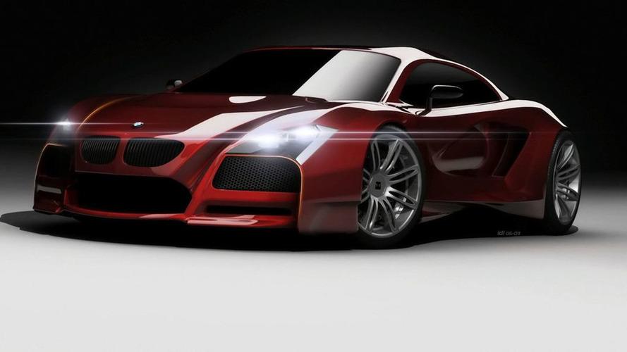 BMW M Concept Envisions Audi R8 Rival
