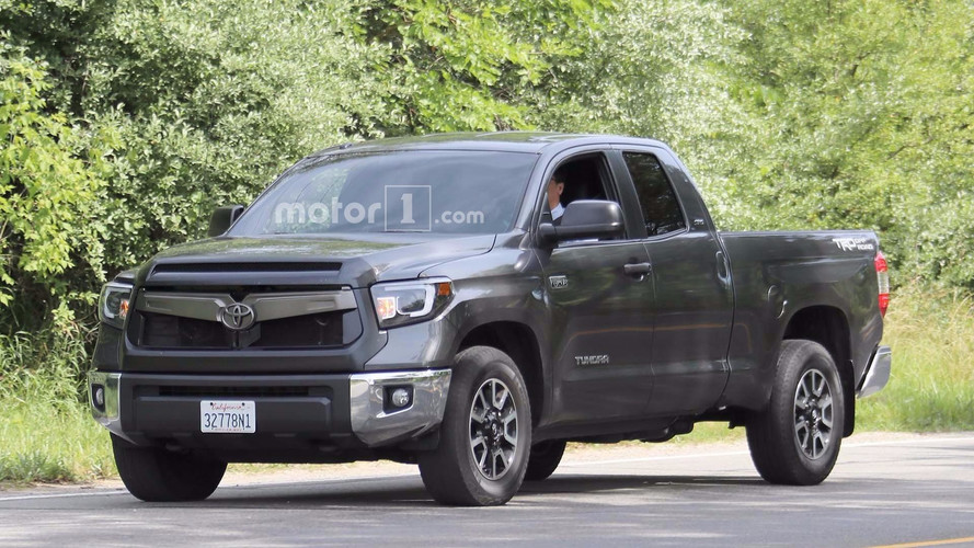 Toyota Tundra Spied Wearing A Camry-like Grille