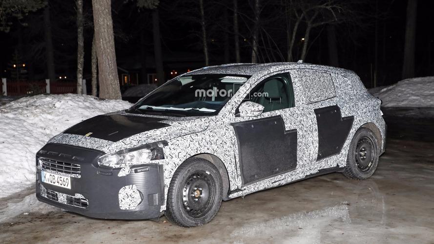 2018 Ford Focus spy photos