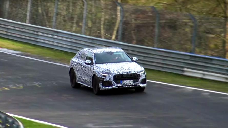Vídeo del Audi Q8 2018 rodando en Nürburgring
