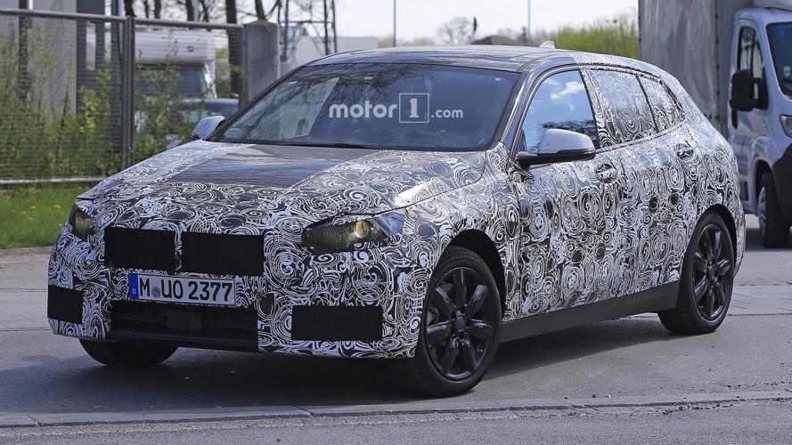 Photos espion - La future BMW Série 1 se montre pour la première fois