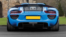 Arrow Blue Porsche 918 Spyder