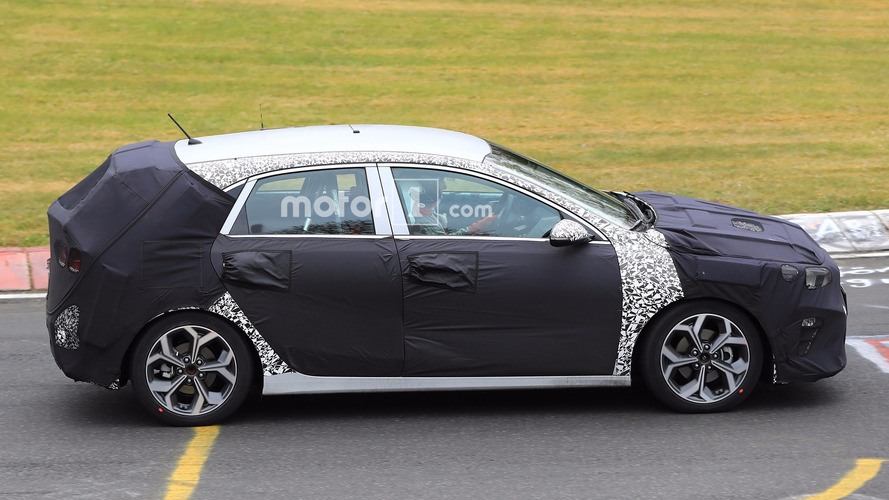 2018 Kia Cee'd Spied Again At The Nürburgring
