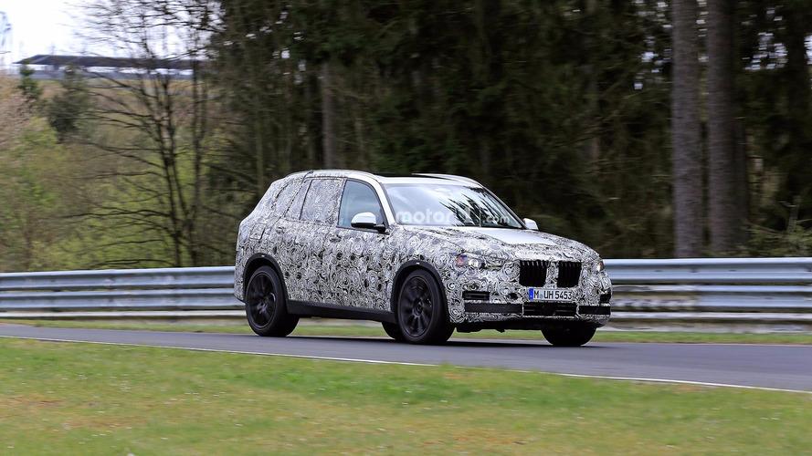 Photos espion - Le BMW X5 s'apprête à être renouvelé