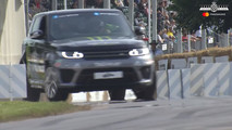 Range Rover Sport SVR at 2017 Goodwood Festival of Speed