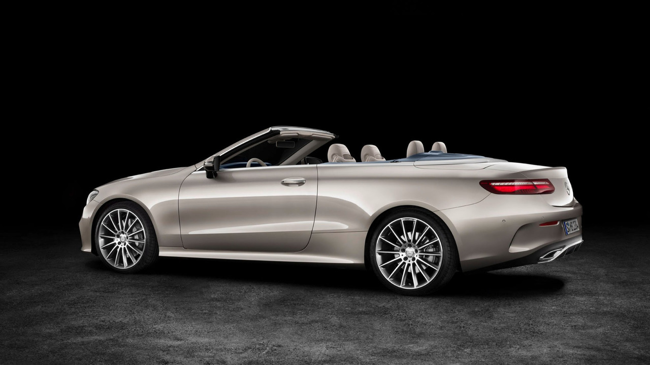 new mercedes e class cabriolet uncovered. Black Bedroom Furniture Sets. Home Design Ideas