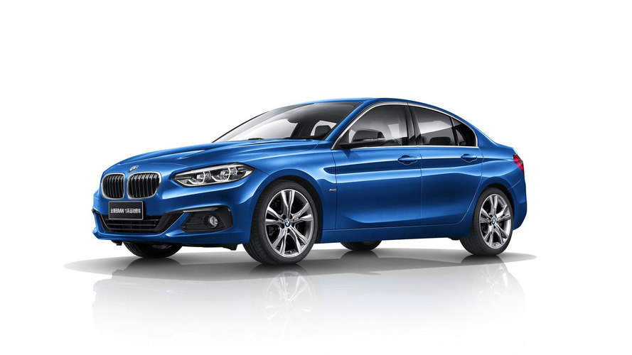 BMW 1 Serisi Sedan Avrupa'ya gelmeyecek