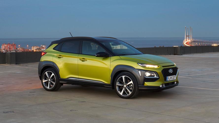 Hyundai Kona starts from £16,195 on the road