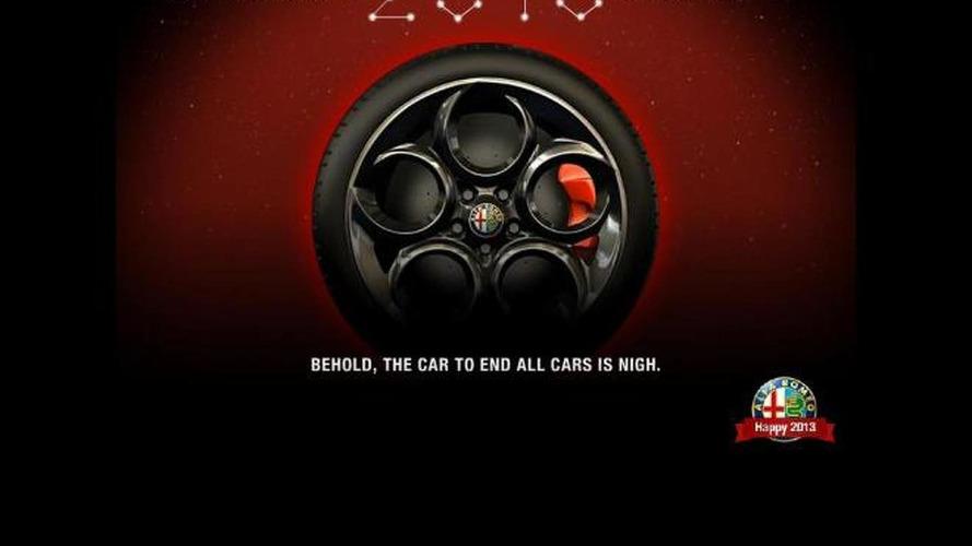Alfa Romeo 4C teased for 2013 debut
