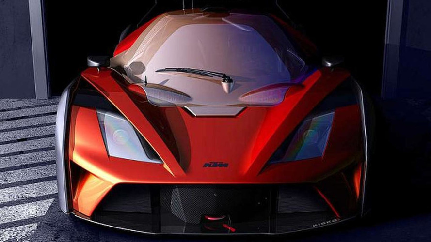 KTM X-Bow GT4 teased, will have about 320 bhp