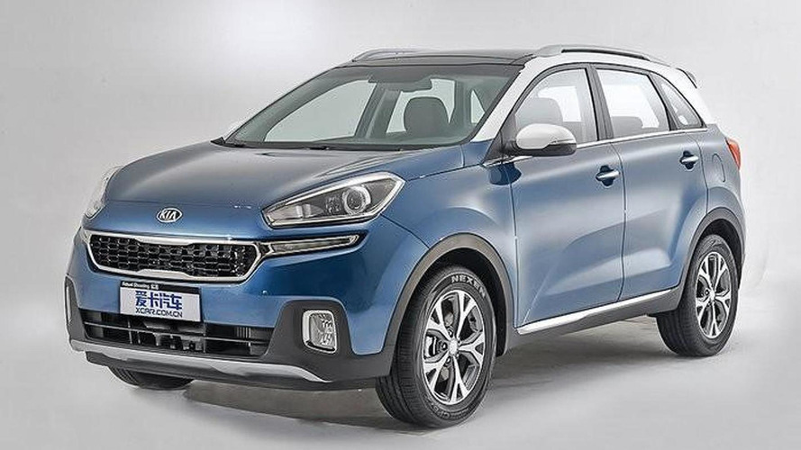 Kia KX3 leaked official image / xcar.com.cn