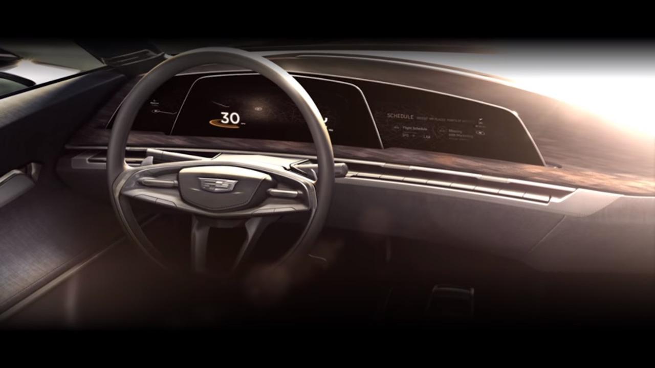 Cadillac design concept teaser