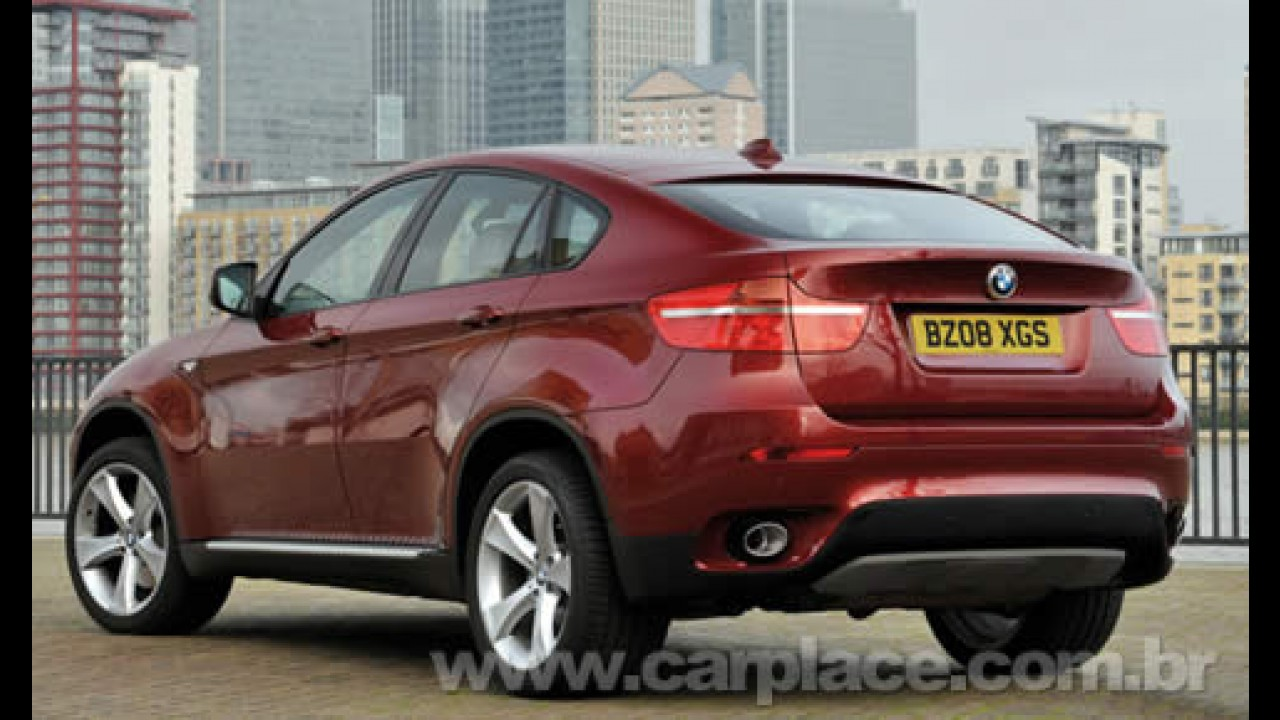 Novo BMW X6 com motor de 407 cavalos de potência chega ao Brasil em agosto