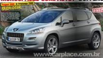 Revista francesa mostra nova projeção do futuro Crossover Peugeot 3008