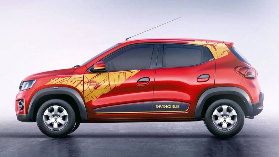 Hindistan'a özel Iron Man ve Captain America temalı Renault'lar