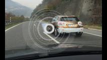 Mercedes GLA restyling, le foto spia in autostrada