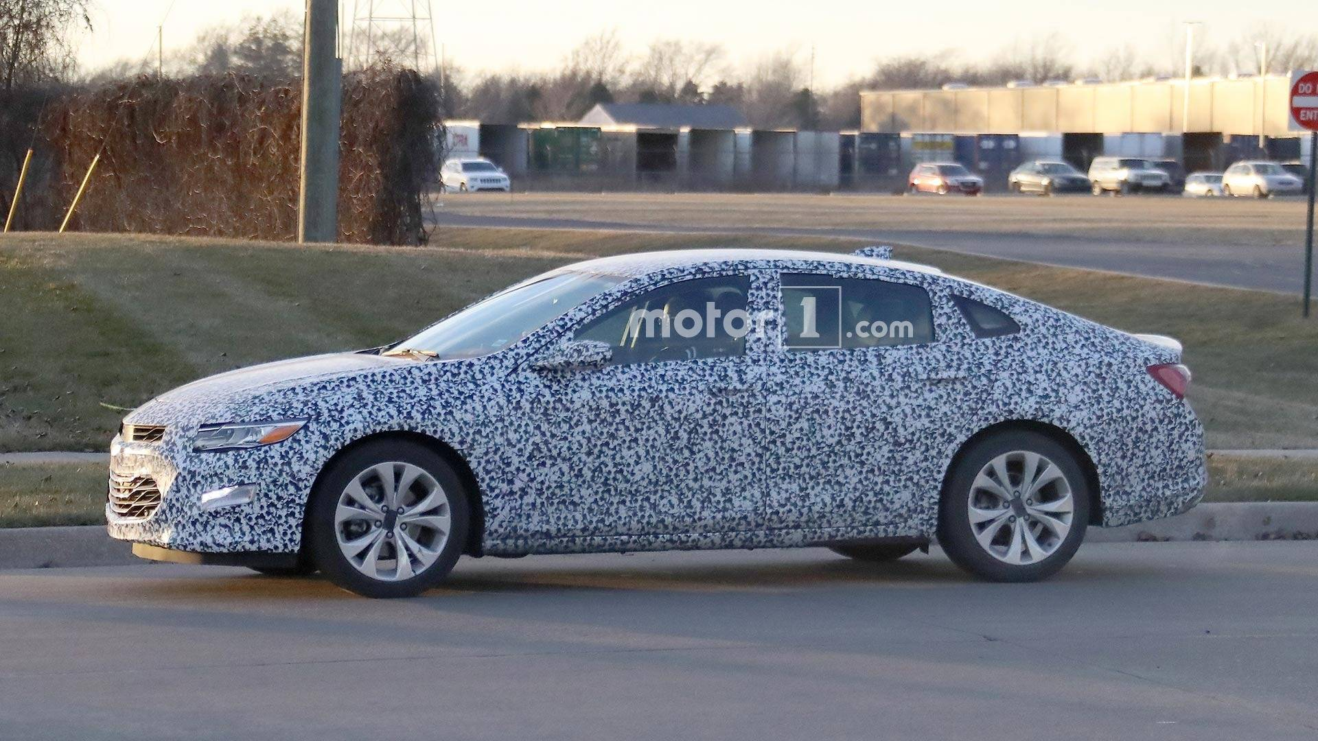 2019 Malibu >> 2019 Chevy Malibu Spied Testing With Less Camo