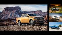Ford Ranger Versus Competition