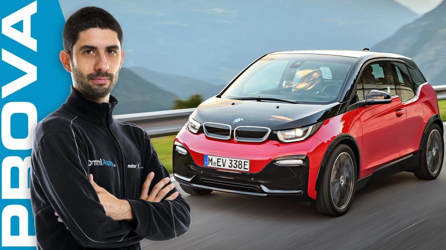 BMW i3s, oltre al look c'è il tasto Sport