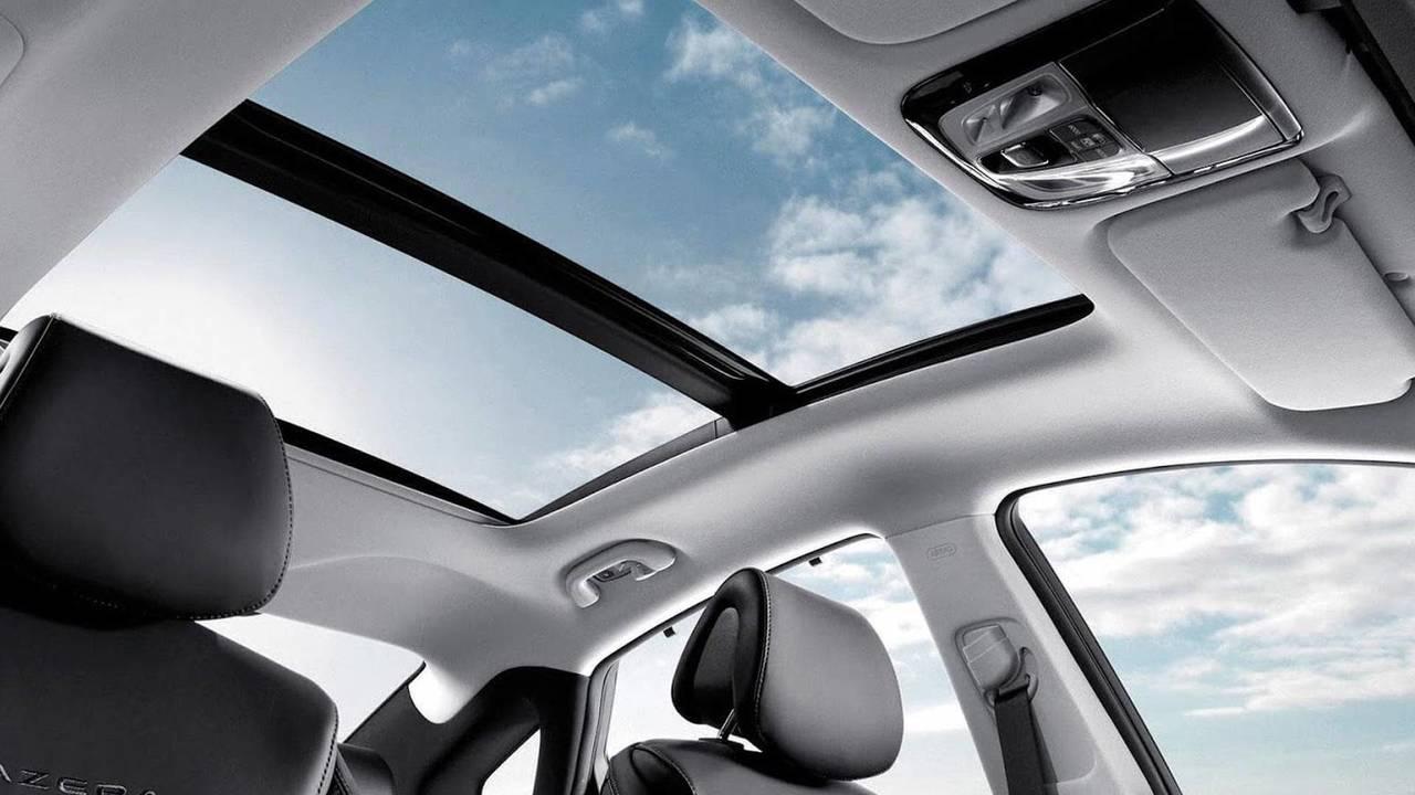 Airbag techo panorámico de Hyundai