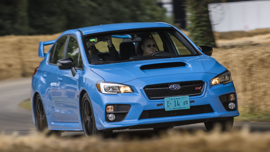 Subaru at the 2017 Goodwood Festival of Speed