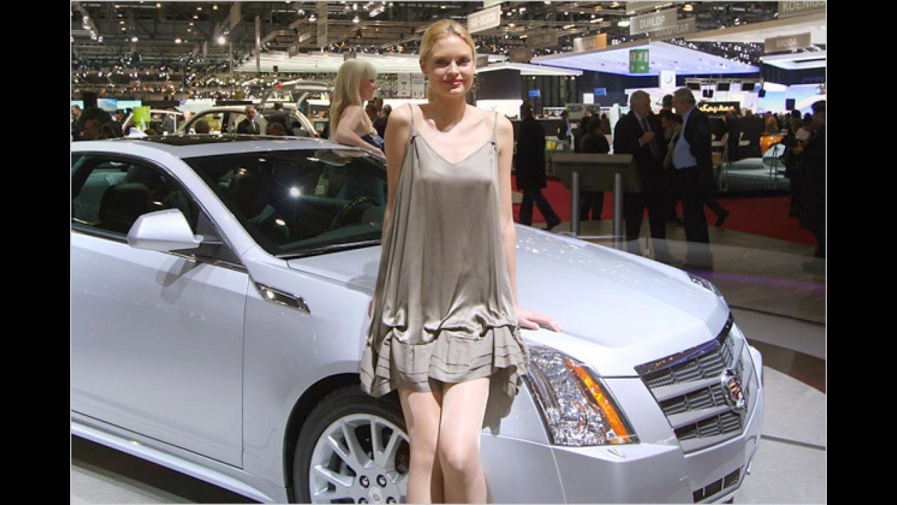 Mit einem Cadillac kann man Frauen immer wieder beeindrucken