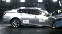 Lexus GS300 euro NCAP - front impact