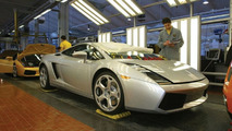 Lamborghini Gallardo Assembly Line