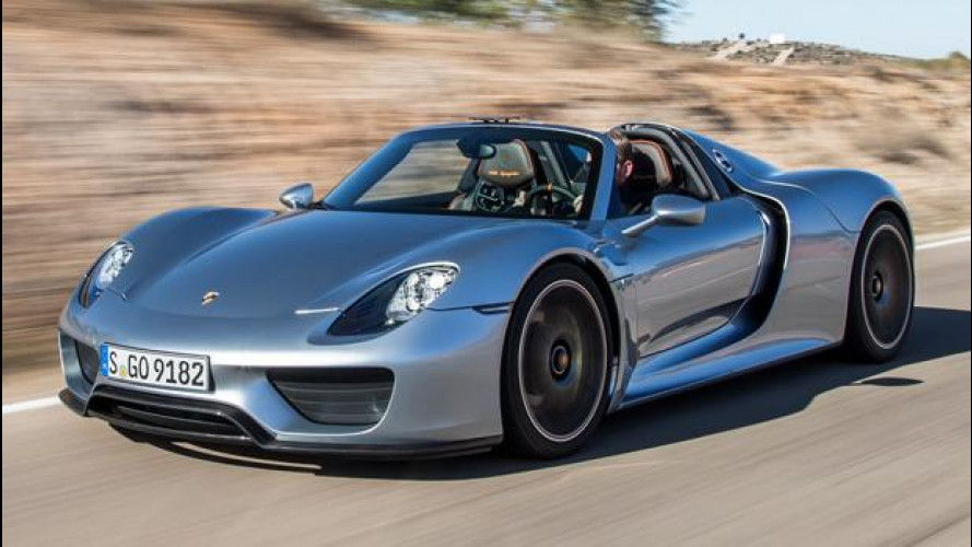 Porsche 918 Spyder, nuovo richiamo per 205 supercar