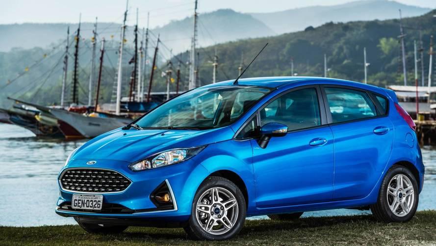 Ford Fiesta SEL 2018