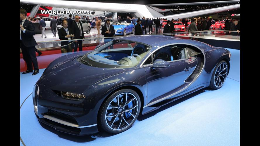Bugatti al Salone di Ginevra 2017