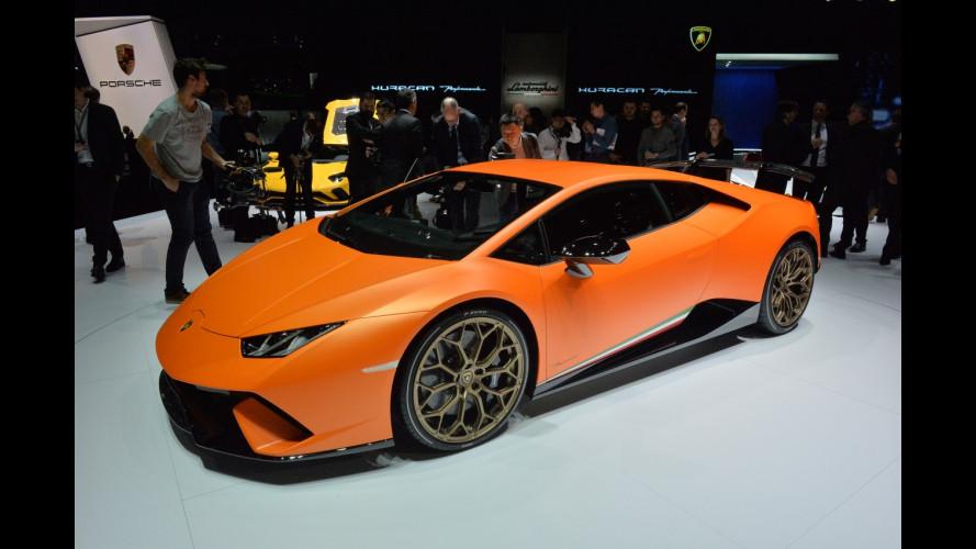 Lamborghini al Salone di Ginevra 2017