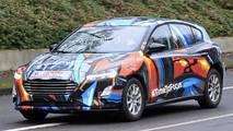 Ford Focus 2018, fotos espía