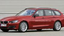 2013 BMW 3 Series wagon artist rendering, 1000, 18.01.2012