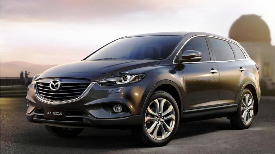 2013 Mazda CX-9 facelift revealed