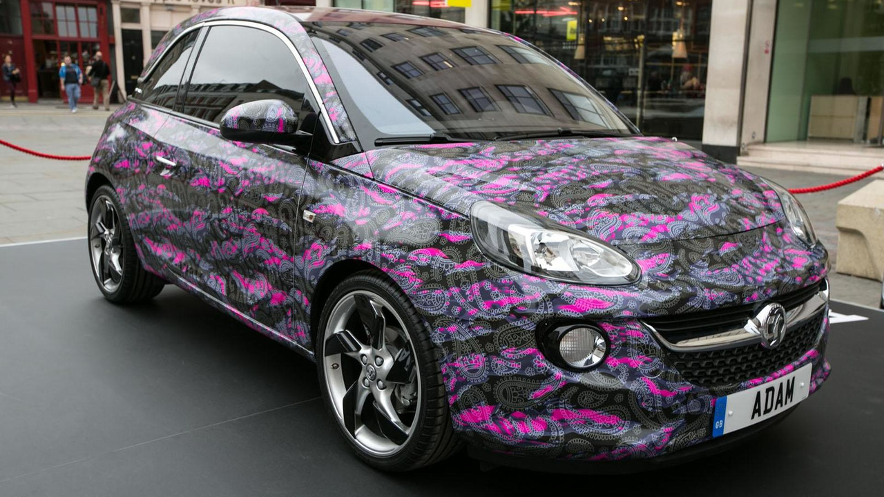 Vauxhall Adam&James art car - 14.9.2012