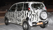 Mahindra Mini Xylo spied photos 04.02.2012