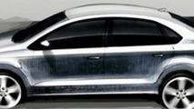 2012 Volkswagen Polo V sedan leaked design sketch - 600 - 03.05.2010