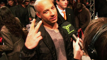 Vin Diesel at VIP pre-premier of Fast and Furious film
