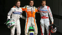 Fisichella takes pole position in 'mystery' Spa qualifying