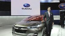 Subaru Hybrid Tourer Concept live in Tokyo 2009