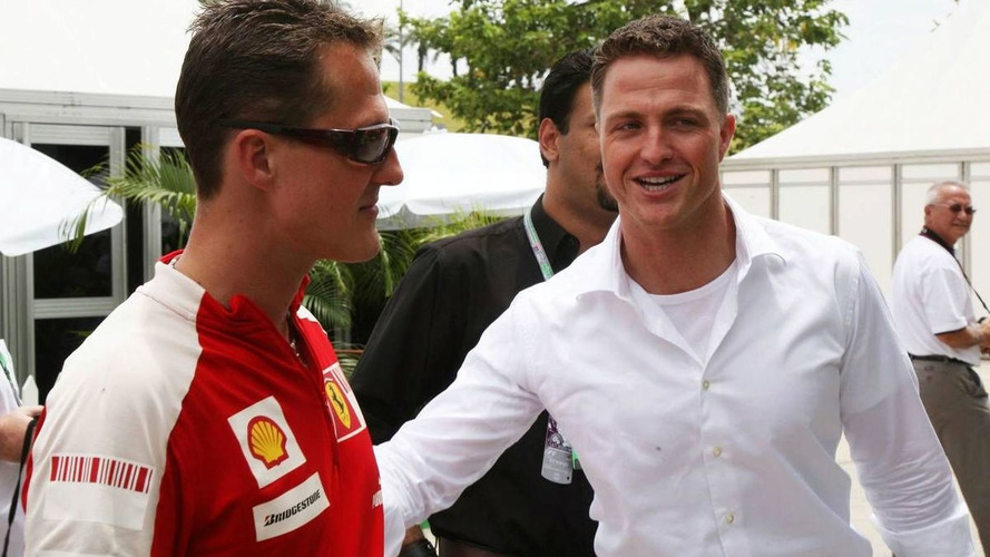 Ralf Schumacher meets with Stefan GP boss