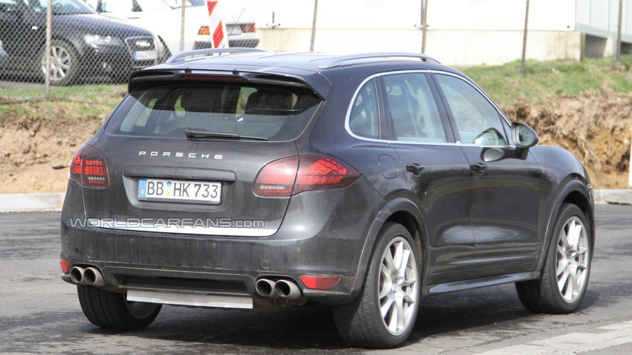2012 Porsche Cayenne Turbo S spied for first time