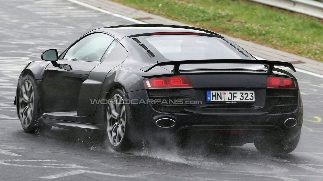 Audi R8 V10 Club Sport first spy photo