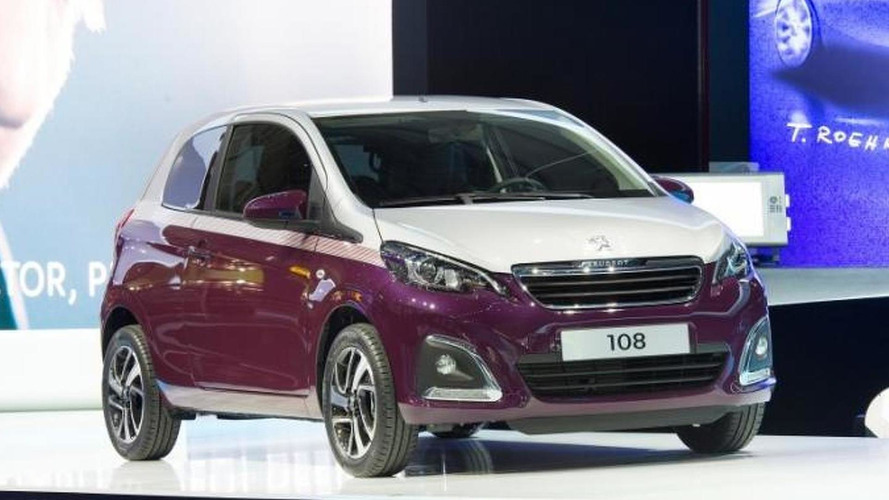 More refined Peugeot 108 arrives in Geneva together with 108 Tattoo concept