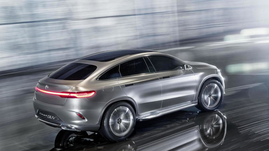 Mercedes-Benz Concept Coupe SUV revealed