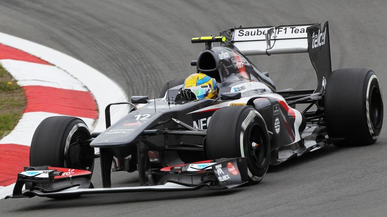 Esteban Gutierrez, Sauber C32.
