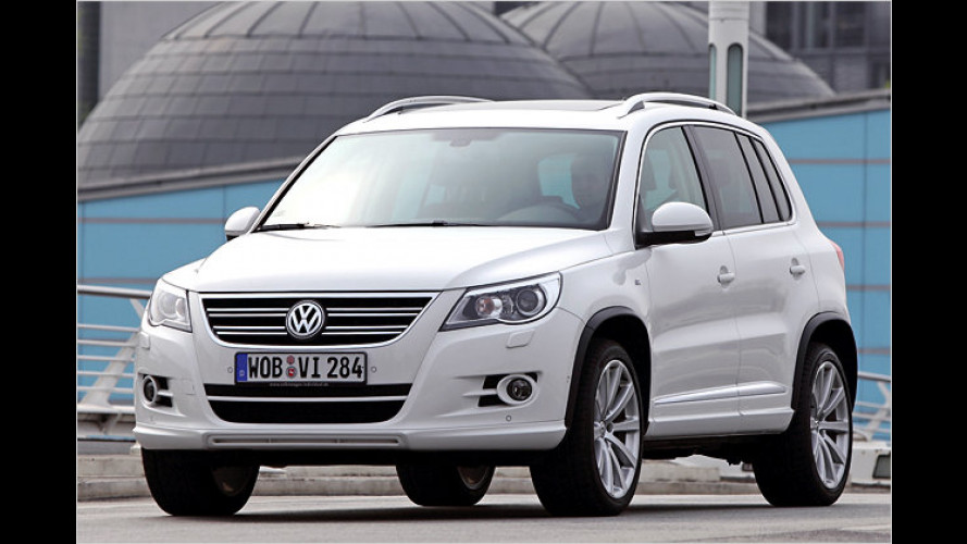 Sportliches Outfit für den Tiguan: R-Line-Pakete von VW