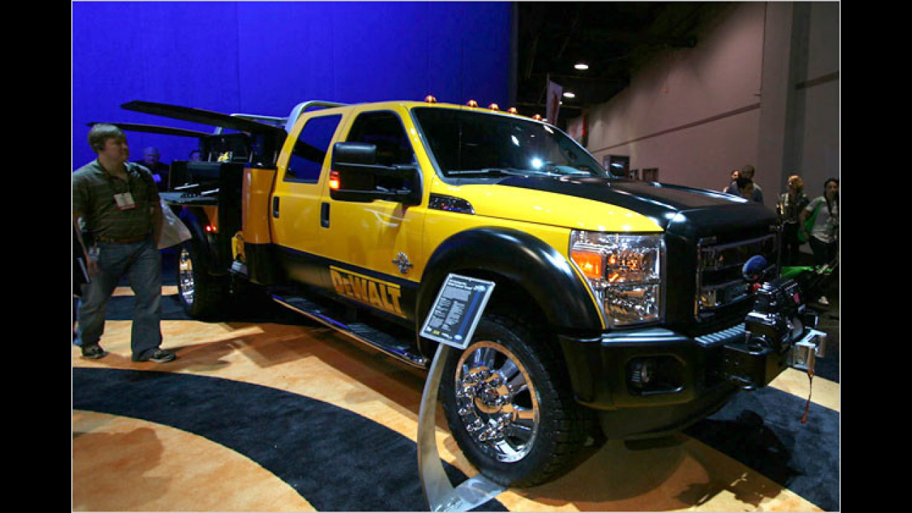 Ford Super Duty Dewalt Conductor Concept
