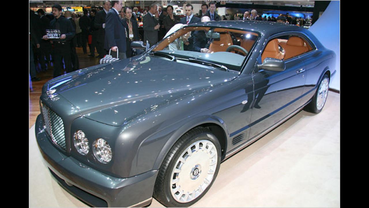 Der Bentey Brooklands ist ein auf 550 limitiertes Fahrzeug mit 537 PS